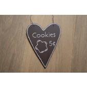 Houten Hart Cookies 5 ct