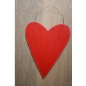 Groot houten hart