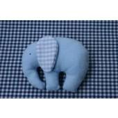 Knuffel Olifant blauw